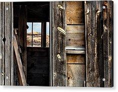 Through Cabin Window Acrylic Print