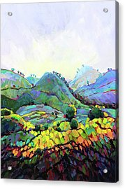 Through Hill And Dale Acrylic Print