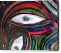 Through Other's Eyes Acrylic Print by Dawn Hough Sebaugh