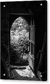 Acrylic Print featuring the photograph Through The Door by Clare Bambers
