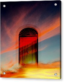 Through The Door Acrylic Print