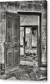 Through The Doors Of Time Acrylic Print by JC Findley