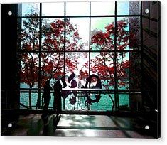 Through The Glass Acrylic Print