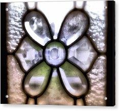 Through The Glass Acrylic Print by Laura DAddona