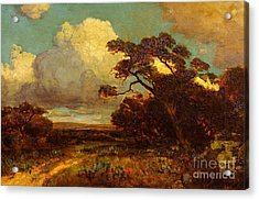 Through The Hills In Southwest Texas 1911 Without Border Acrylic Print