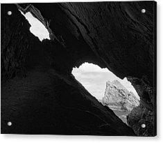 Through The Keyhole Acrylic Print by Tim Haynes