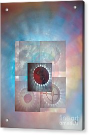 Through The Looking Glass Acrylic Print by Sean-Michael Gettys