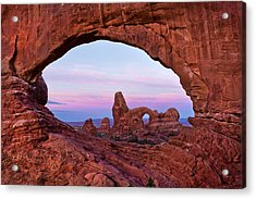 Through The North Window Acrylic Print