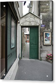 Acrylic Print featuring the photograph Through The Open Door by Nancy Taylor