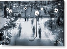 Through The Time Acrylic Print by Svetlana Sewell