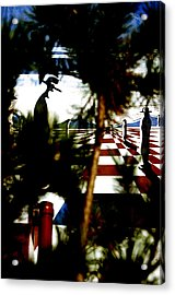 Through The Trees Acrylic Print by Jez C Self