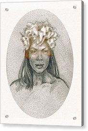 Through The Veil Acrylic Print