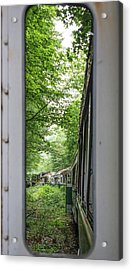 Through The Window Acrylic Print