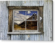 Through The Window Of The Past 2 Acrylic Print