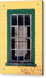 Through The Windows Acrylic Print