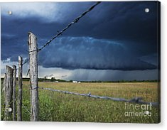 Through The Wires Acrylic Print