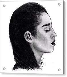 Lauren Jauregui Drawing By Sofia Furniel Acrylic Print