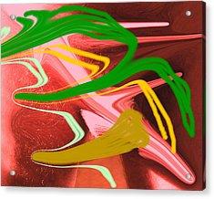Thrust Acrylic Print by Allan  Hughes