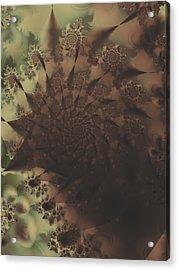 Thumb Print Acrylic Print by Lauren Goia