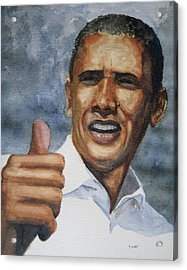 Thumbs Up Acrylic Print