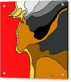 Thunder God Acrylic Print