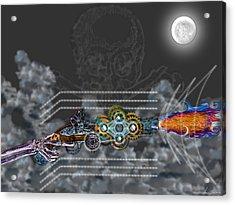 Thunder Gun Of The Dead Acrylic Print