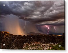 Thunder Mountain Acrylic Print