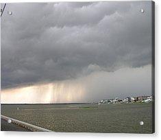 Thunder On The Bay Acrylic Print