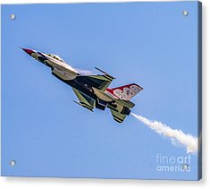 Acrylic Print featuring the photograph Thunderbird #5 by Nick Zelinsky