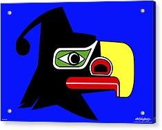 Thunderbird Acrylic Print by Asbjorn Lonvig