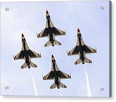Thunderbirds Away Acrylic Print