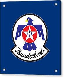 Thunderbirds Logo Acrylic Print