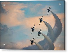 Acrylic Print featuring the photograph Thunderbirds by Rick Berk