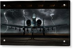 Thunderbolt And Lightning Acrylic Print