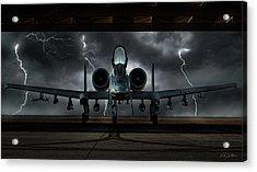 Thunderbolt And Lightning Acrylic Print