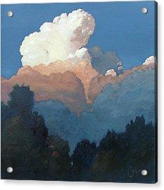 Thundercap Rising In Santa Fe Acrylic Print