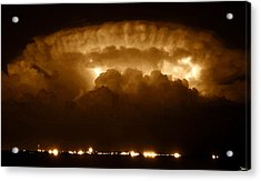 Thundercloud Acrylic Print by David Lee Thompson