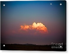 Thunderhead At Dusk Acrylic Print by Ryan Kelly