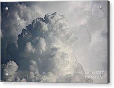 Thunderhead Clouds Acrylic Print by Terri Mills