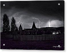 Thunderhead Acrylic Print by Darryl Gallegos