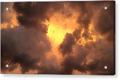 Thunderous Sunset Acrylic Print