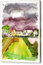 Thunderstorm Approaching Acrylic Print