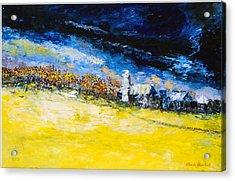 Thunderstorm Acrylic Print by Claude Marshall