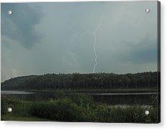 Thunderstorm Over Otter Brook Lake Acrylic Print