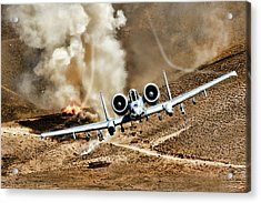 Thunderstruck Acrylic Print by Peter Chilelli