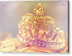 Tiara Crown With Diamonds Acrylic Print