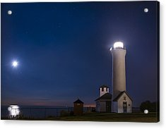Acrylic Print featuring the photograph Tibbets Point Night by Mark Papke