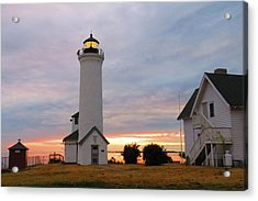 Tibbetts Point Lighthouse, July Sunset Acrylic Print