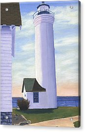 Acrylic Print featuring the painting Tibbett's Point by Lynne Reichhart