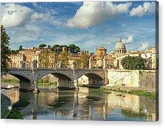 Tiber View Acrylic Print